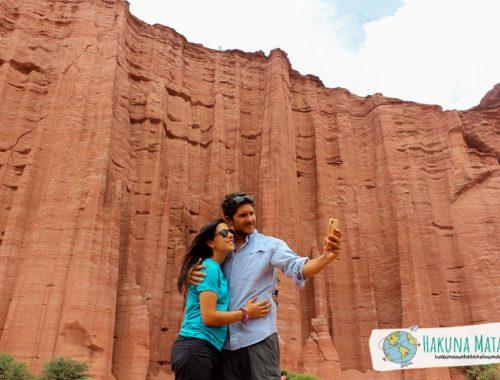 Nosotros en el Parque Nacional Talampaya